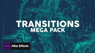 Mega Pack / Transitions | After Effects Template