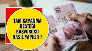 1100 TL TAM KAPANMA SOSYAL YARDIM ÖDEMESİ NASIL ALINIR? (04.05.2021)