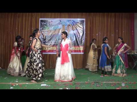 Vasthava Janaki Song - Akshaya Clg Compose siddu