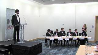 Irish Times Debate Belfast 2013**