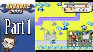 Advance Wars Campaign Gameplay - Part 1 - Let