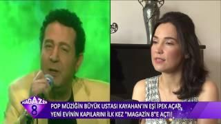 Pop Müziğin Büyük Ustası Kayahan'ın Eşi İpek Acar Evinin Kapılarını Açtı