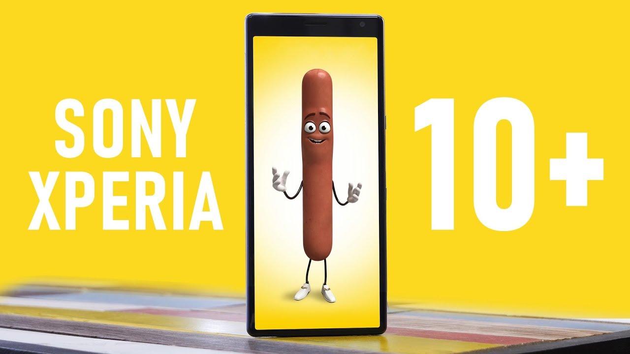 Обзор Sony Xperia 10 Plus: 16,4 см удовольствий – японский размер. Лысый из мобилтелефона одобряет!