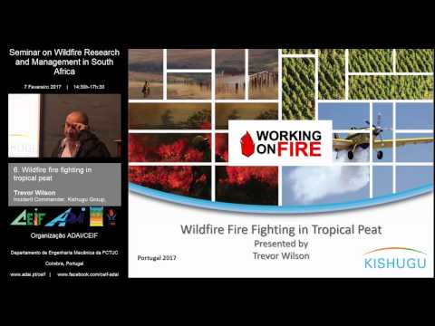 06 Wildfire fire fighting in tropical peat