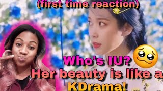 Gambar cover First Time Reaction|[MV] IU(아이유) _ Blueming(블루밍)