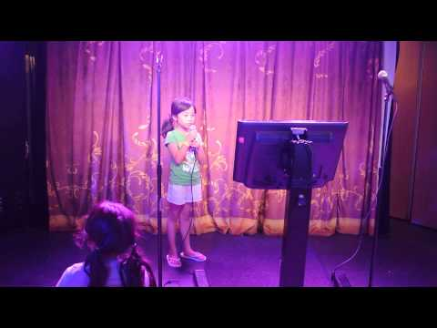 Brianne's Karaoke Performance on Disney Dream