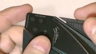 Card Knife Pisau Lipat Berbentuk Kartu