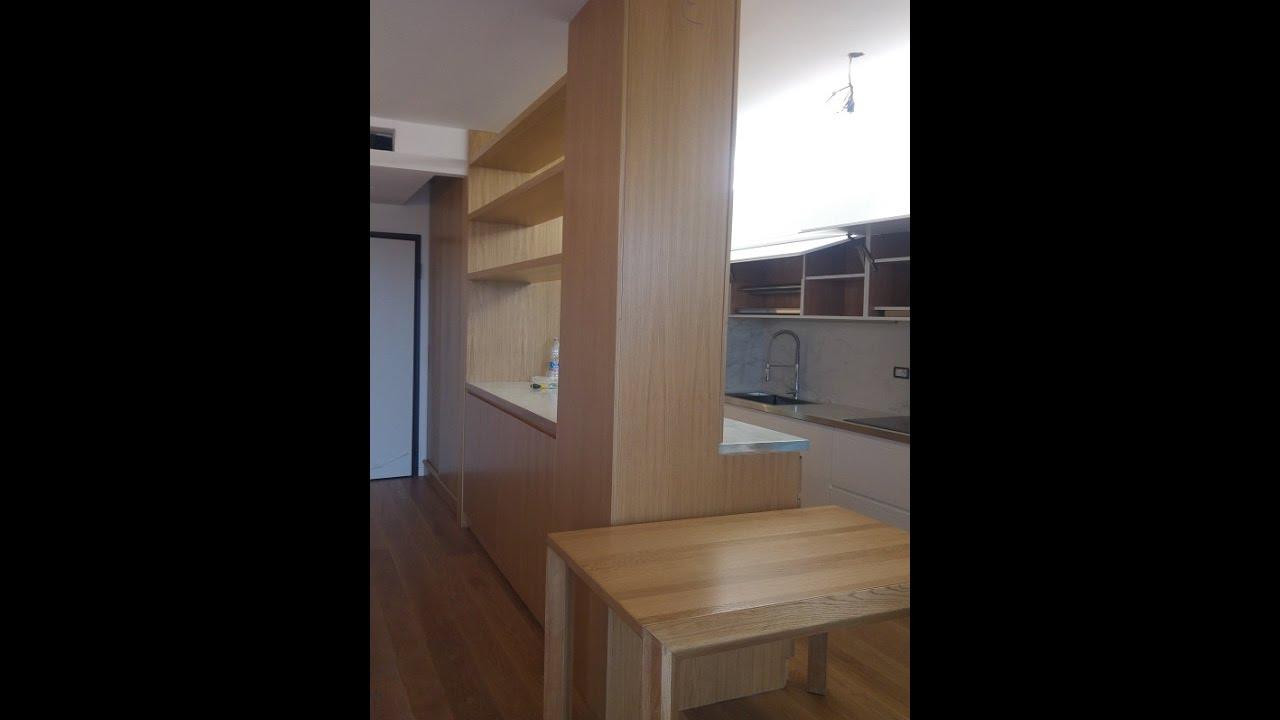 cucina,soggiorno in un ambiente unico