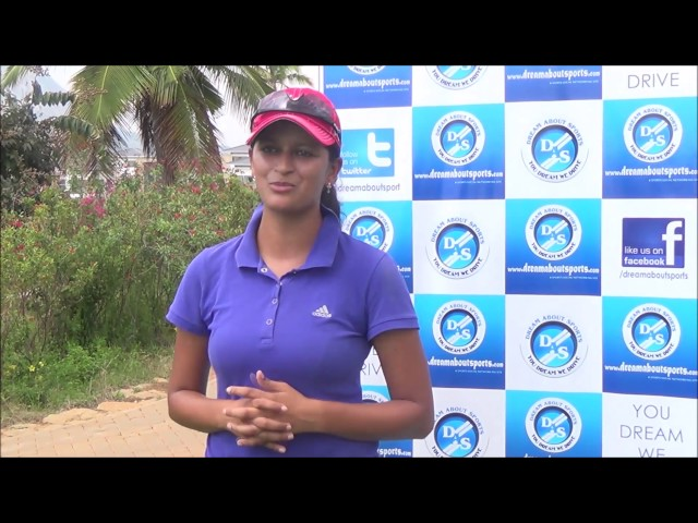 Swetha - Indian Women's Golf Player