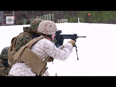 M27 Infantry Automatic Rifle Live-fire - Marine Corps Warrant Officer Basic Course