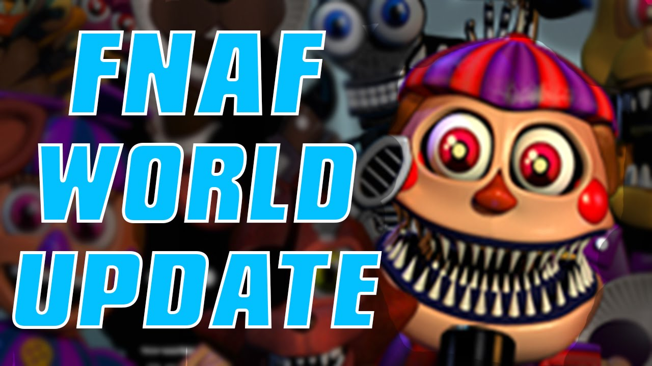 FNAF WORLD UPDATE 2 | Halloween Animatronics & SECRET ...
