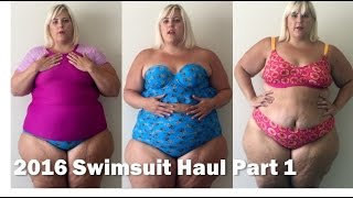Plus Size Fashion Swimsuit + Bikini Haul 2016: Part 1