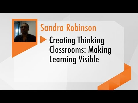 Webinar - Creating Thinking Classrooms: Making Learning Visible
