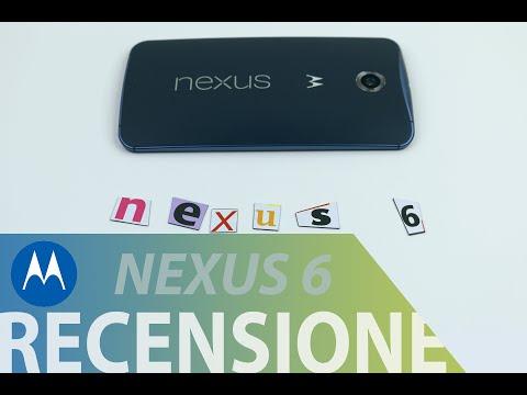 Motorola Nexus 6, recensione in italiano