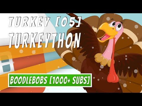 Turkey Christmas Song 2018 - Boodlebobs Turkeython - for Children & Kids