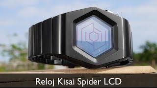 Unboxing Reloj Kisai Spider LCD Tokyoflash   Primeras impresiones