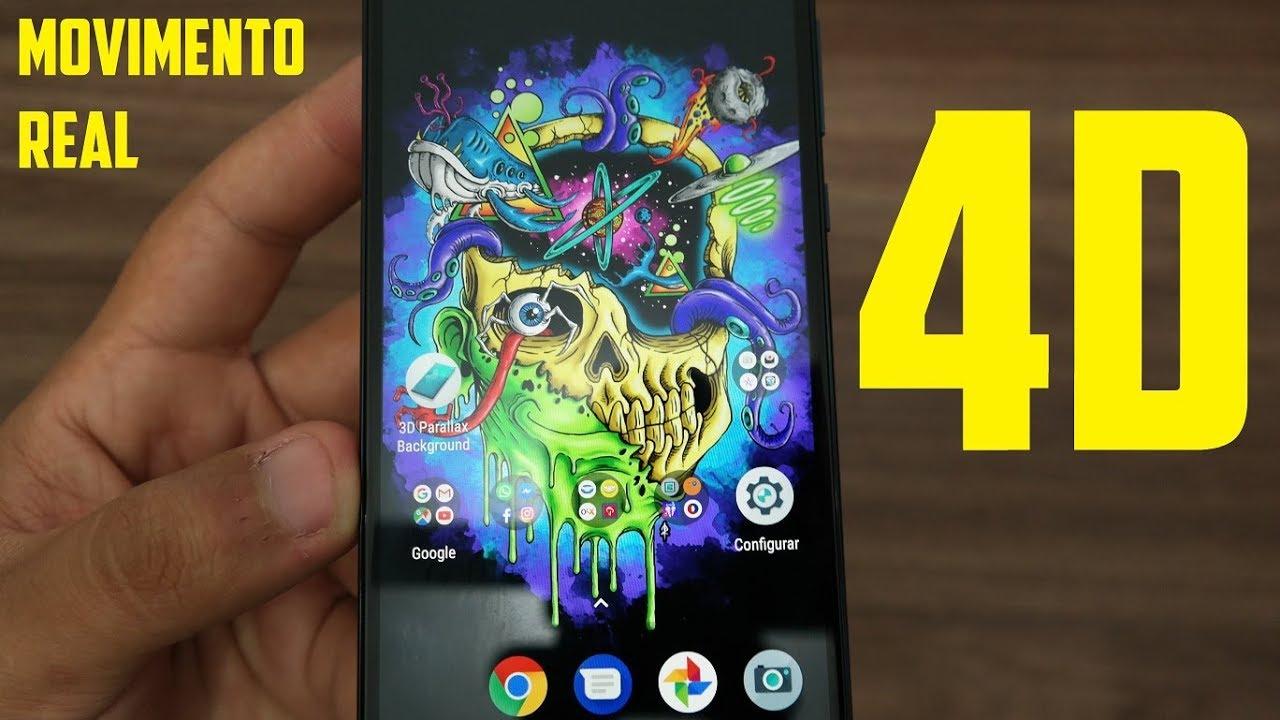 Como Colocar Papel De Parede Em 4d No Seu Smartphone Wallpaper 3d E 4d