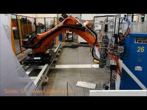 ROBOT: TUBE FRAME HANDLING; MANIPOLAZIONE TELAI IN TUBO