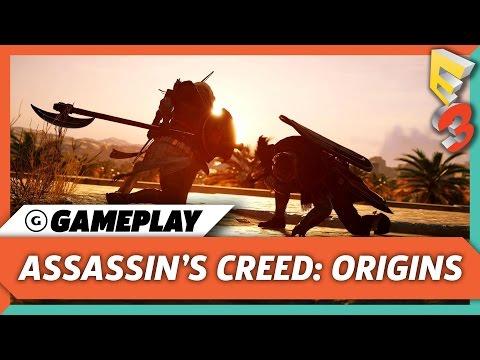 Gladiator Arena Combat Gameplay - Assassin's Creed: Origins | E3 2017