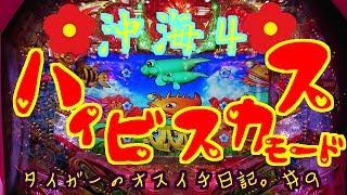 【海物語】オスイチ日記。#9『沖海4はハイビスカスモード固定で頑張ります。』 thumbnail