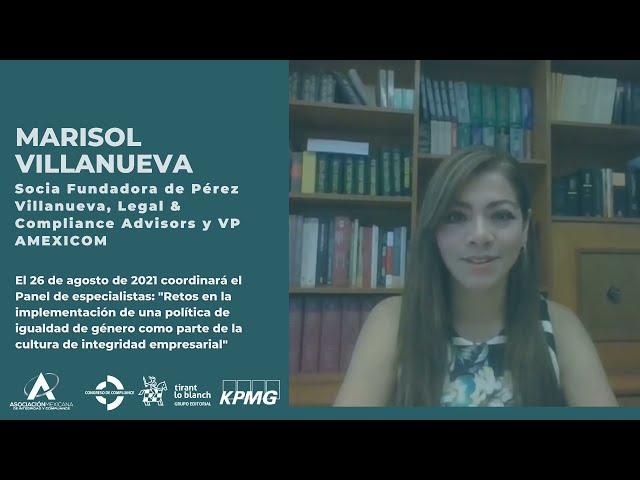 Marisol Villanueva te invita el 3er Congreso AMEXICOM