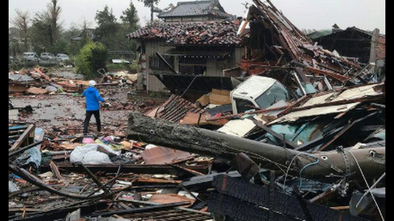 Massive Typhoon Rocks Japan; 7 Million Told to Evacuate Amid Flooding