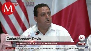 Carlos Mendoza da mensaje en Cumbre de Alcaldes de Norteamérica