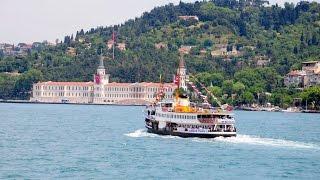 Video Bosphorus Boat Tour in Istanbul / Turkey download MP3, 3GP, MP4, WEBM, AVI, FLV November 2018