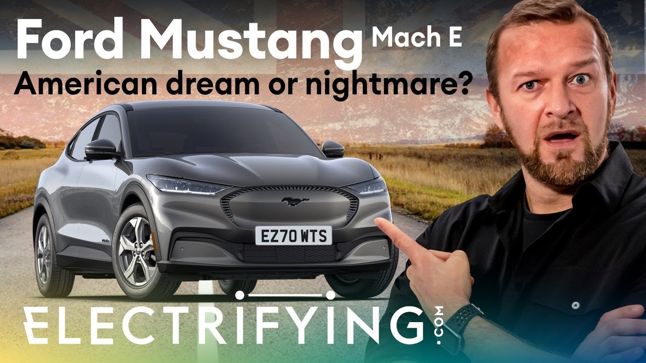 Ford Mustang Mach-E SUV 2021 review: American dream or nightmare? / Electrifying