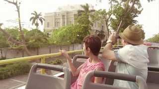 """""""YO DESCUBRÍ YUCATÁN"""" con Cecilia Suárez y Juan Manuel Bernal - Documental (Versión Making Of)."""