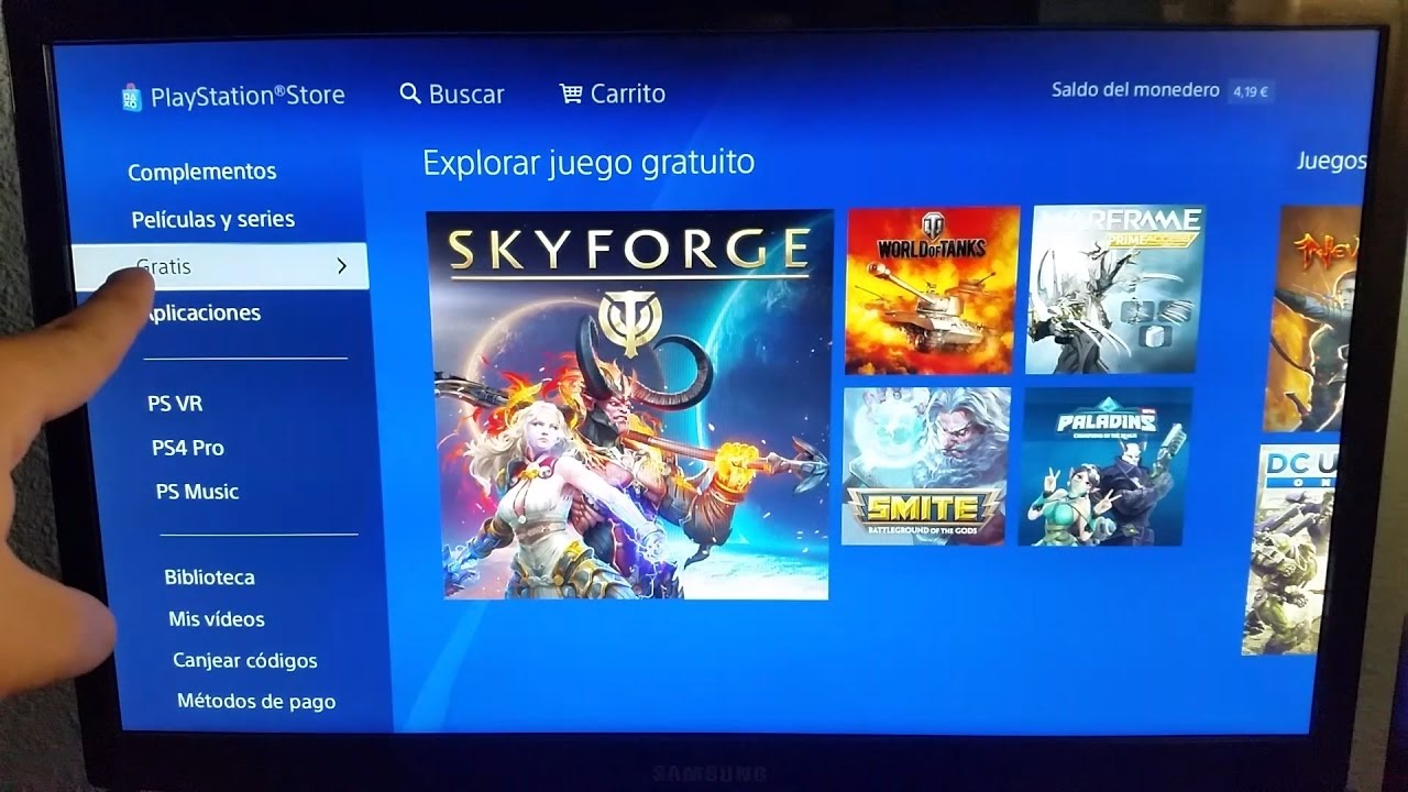 Como Descargar Juegos Gratis En Playstation 4 Ps4 Youtube