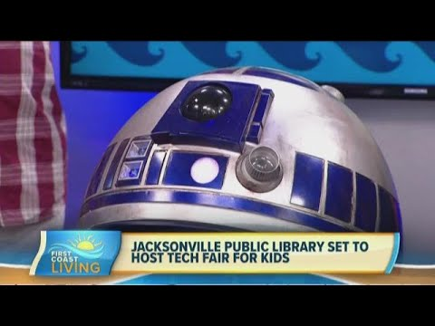 Jacksonville Public Library Set To Host Tech Fair For Kids! (FCL July 15th)