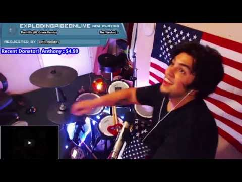 The Weekend - The Hills (RL Grime Remix) BLIND COVER ON TWITCH