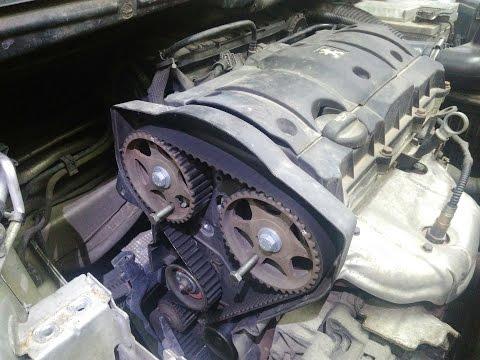 Замена ремня ГРМ на Пежо 307 с двигателем 1.6i 16v