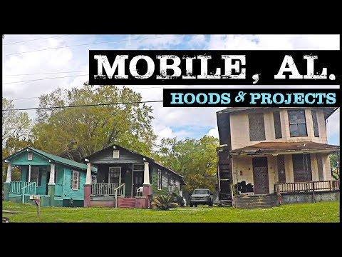 MOBILE ALABAMA WORST HOODS