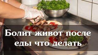 Болит живот после еды что делать