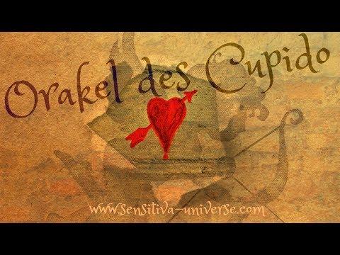 Das SENSITIVA UNIVERSE® Orakel des Cupido | Das Orakel für Singles & Seelenpartner ♥