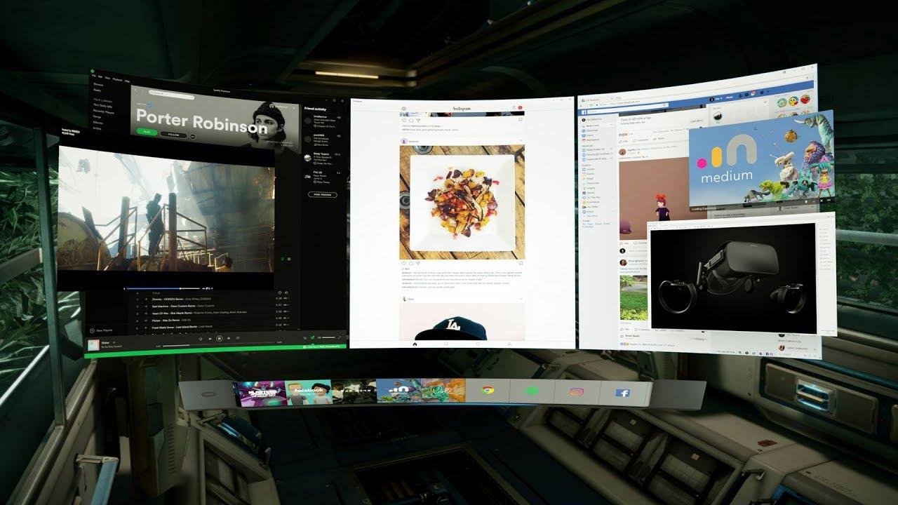 First Look at Oculus Dash