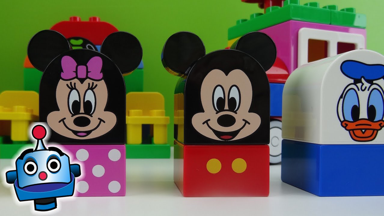 LEGO Mickey and Friends Building Blocks Game  YouTube