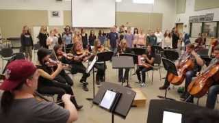 Portland Cello Project At Wood River High School