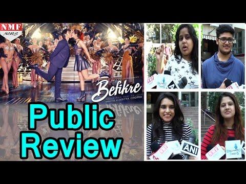 Public Review Of Film 'Befikre' | Ranveer...