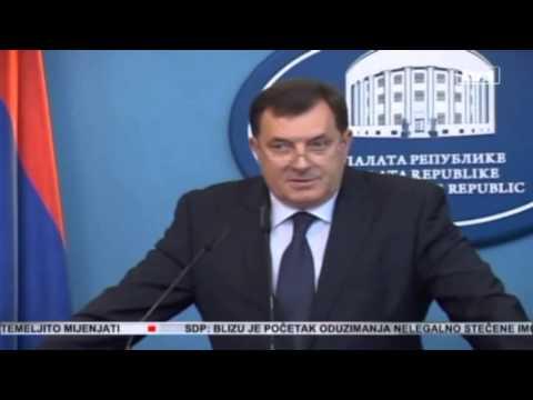 Milorad Dodik komedija do suza!!! 2 deo