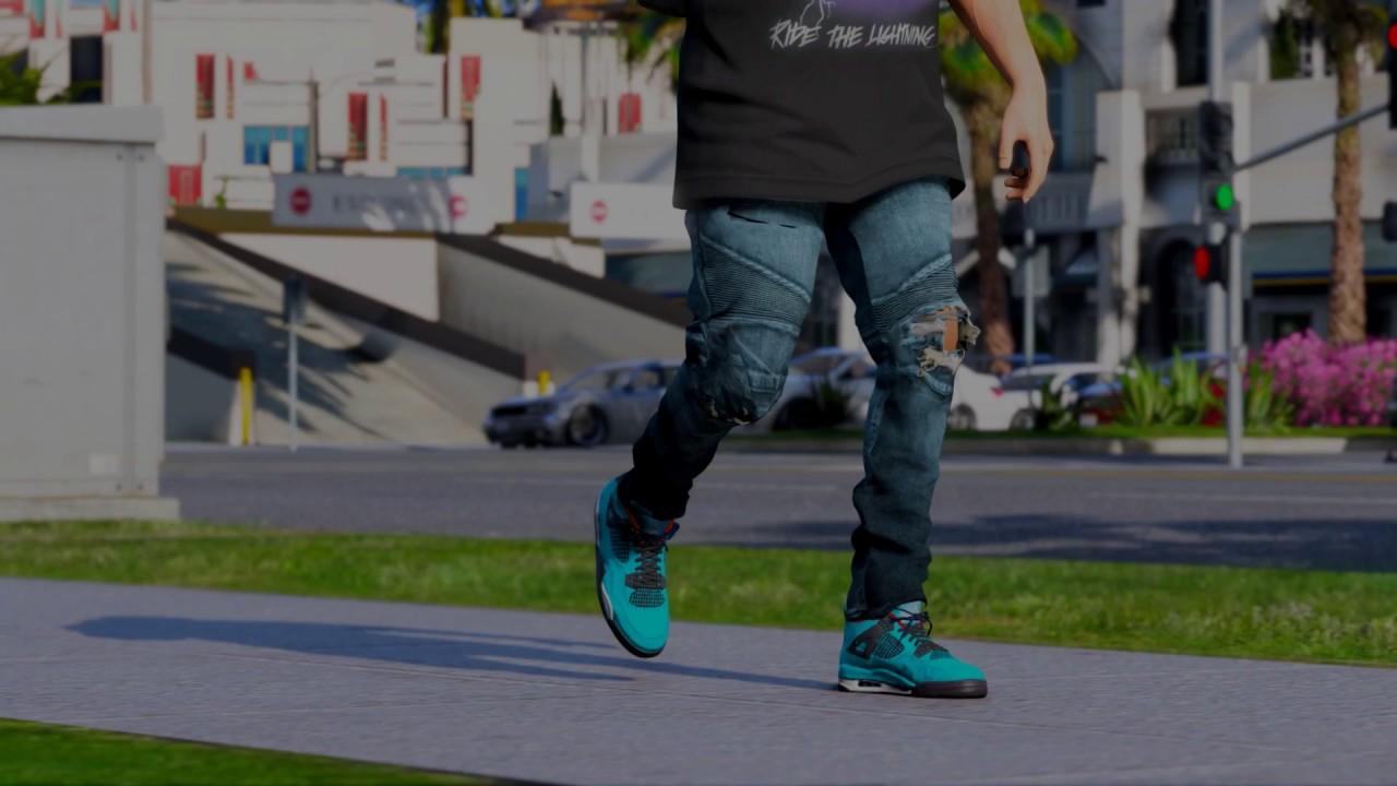 a915b4c4878a Air Jordan IV x Travis Scott (Cactus Jack) - YouTube