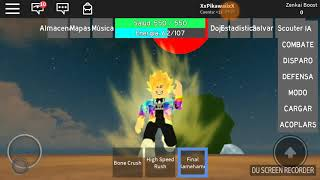 Dragon ball roblox with goldon xr (audio is a bit bad)