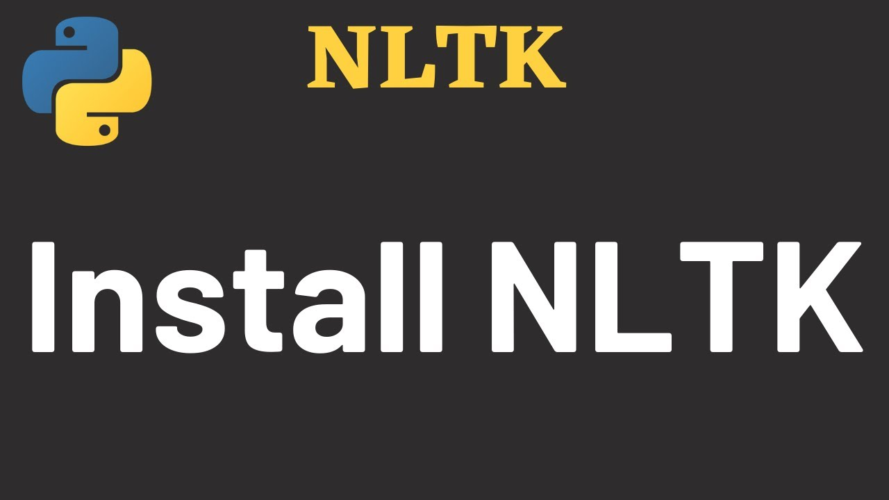 How to Install NLTK Library in Python