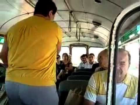 Maltese Bus Fight... Must See