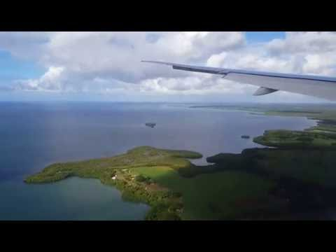 AIR FRANCE 777 LANDING PTP - ATTERRISSAGE GUADELOUPE AF792
