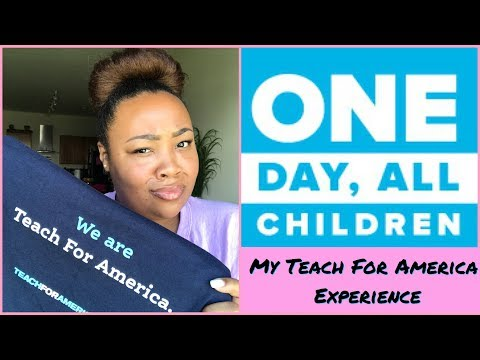 "Teach For America ""Experience"" 