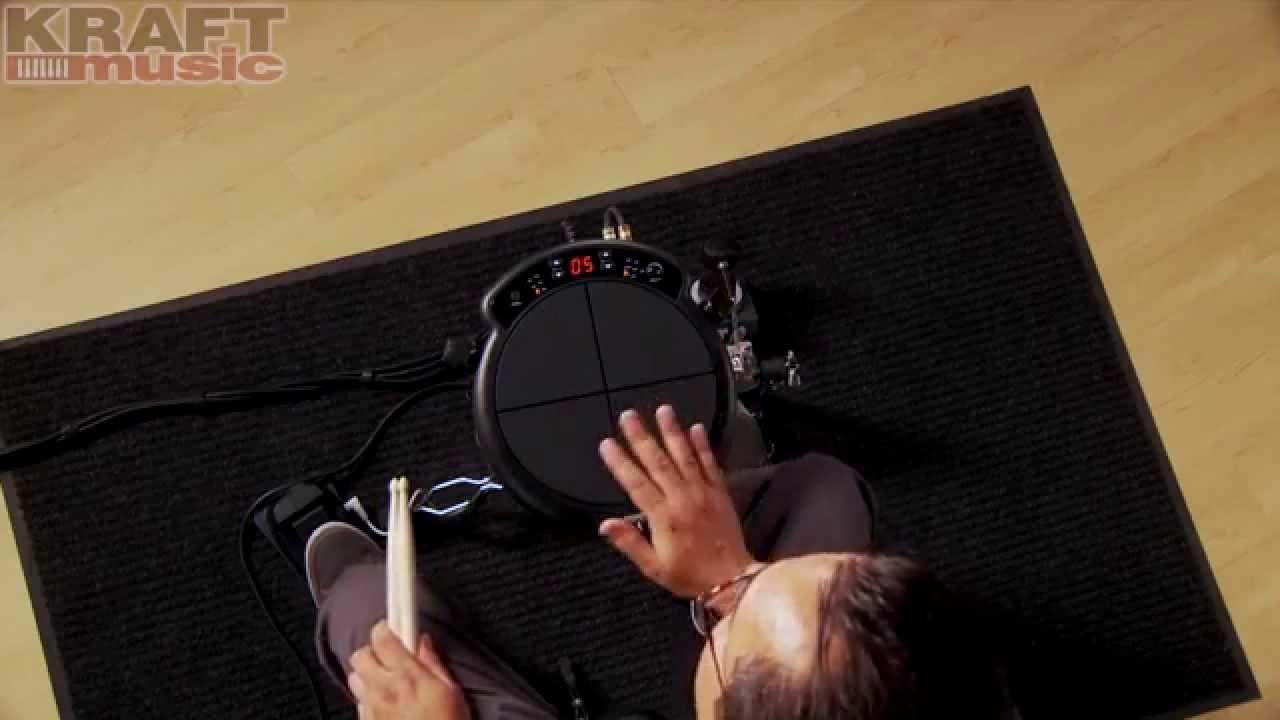 Kraft Music - KAT Percussion KTMP1 Electronic Multipad Demo with Mark  Moralez