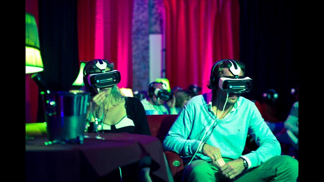 537e5fc0565 Europe s first Virtual Reality cinema - YouTube